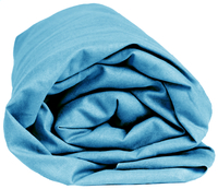 Sleepnight hoeslaken turkoois flanel 140 x 200 cm-Artikeldetail
