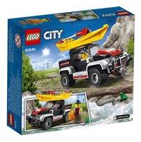 LEGO City 60240 Kajak avontuur-Achteraanzicht