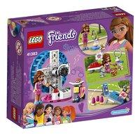 LEGO Friends 41383 L'aire de jeu du hamster d'Olivia-Arrière