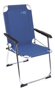 Bo-Camp Chaise de camping Copa Rio Classic bleu-Avant