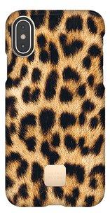 Happy Plugs coque pour iPhone X/Xs Leopard-Avant