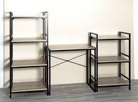 Haku-Möbel Bureau Sandro eik-Afbeelding 1