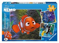 Ravensburger 3-in-1 puzzel Nemo in het aquarium