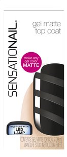 SensatioNail gel matte topcoat