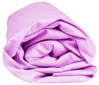 Sleepnight drap-housse lilas en jersey de coton 90/100 x 200 cm-Détail de l'article