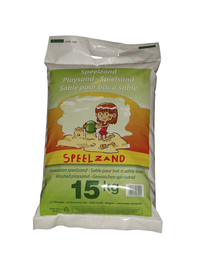 Sable blanc pour bac à sable 15 kg