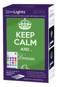 Aloka nachtlampje Sleepy Lights Keep Calm & Dream On