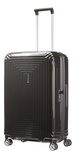 Samsonite Harde reistrolley Neopulse Spinner metallic black 69 cm-Vooraanzicht