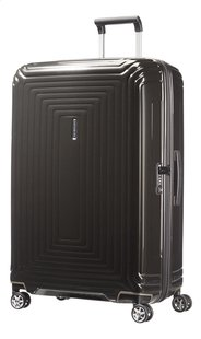 Samsonite Valise rigide Neopulse Spinner metallic black 81 cm