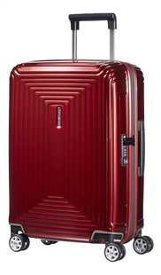 Samsonite Harde reistrolley Neopulse Spinner metallic red 55 cm