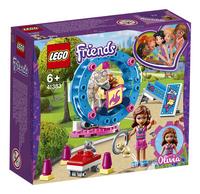 LEGO Friends 41383 L'aire de jeu du hamster d'Olivia-Côté gauche
