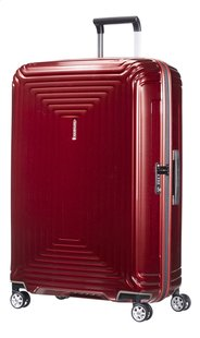Samsonite Harde reistrolley Neopulse Spinner metallic red 81 cm