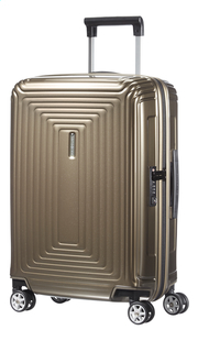 Samsonite Harde reistrolley Neopulse Spinner metallic sand 55 cm