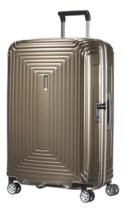Samsonite Harde reistrolley Neopulse Spinner metallic sand 69 cm-Vooraanzicht