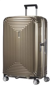 Samsonite Valise rigide Neopulse Spinner metallic sand 69 cm