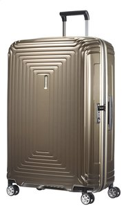 Samsonite Harde reistrolley Neopulse Spinner metallic sand 81 cm