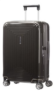 Samsonite Harde reistrolley Neopulse Spinner metallic black 55 cm-Vooraanzicht