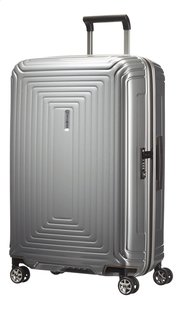 Samsonite Harde reistrolley Neopulse Spinner metallic silver 69 cm