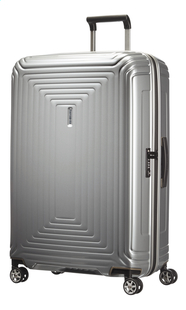 Samsonite Harde reistrolley Neopulse Spinner metallic silver 81 cm
