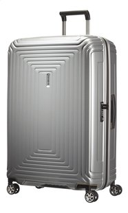 Samsonite Valise rigide Neopulse Spinner metallic silver 81 cm