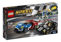 LEGO Speed Champions 75881 Ford GT 2016 & Ford GT40 1966