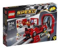 LEGO Speed Champions 75882 Le centre de développement de la Ferrari FXX K