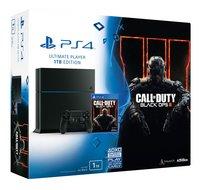PS4 console 1 TB zwart + Call of Duty: Black Ops III ENG/FR