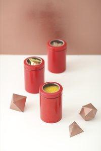 Brabantia 2 boîtes à provisions 1,4 l rouge-Image 1