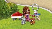 LEGO Friends 41383 L'aire de jeu du hamster d'Olivia-Image 1