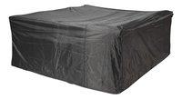 AeroCover Beschermhoes voor rechthoekige tuinset polyester L 200 x B 190 x H 85 cm-commercieel beeld