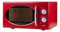Domo Micro-ondes DO2925 rouge-Côté droit