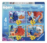 Ravensburger Meegroeipuzzel 4-in-1 Disney Finding Dory