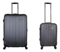 Saxoline set de 2 valises rigides anthracite-Avant