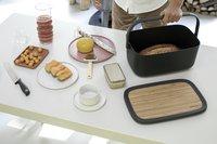 Brabantia Boîte à pain Nic gris foncé-Image 4