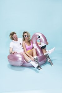 Swim Essentials luchtmatras flamingo-Afbeelding 2