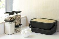 Brabantia Boîte à pain Nic gris foncé-Image 3