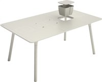 Grosfillex table de jardin Connection gris 160 x 100 cm -Détail de l'article