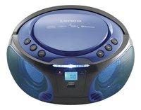 Lenco draagbare radio/cd-speler SCD 550 blauw-Afbeelding 1