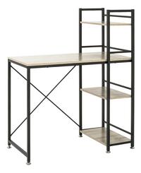 Haku-Möbel bureau Sandro chêne avec étagère-Côté gauche