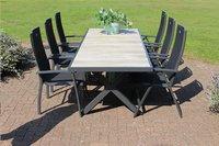 Hartman table de jardin Canterbury gris 247 x 96 cm-Image 2
