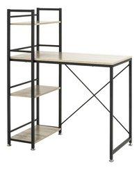 Haku-Möbel bureau Sandro chêne avec étagère-Côté droit
