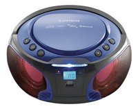 Lenco draagbare radio/cd-speler SCD 550 blauw-Afbeelding 2