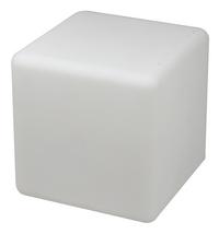 Ledlicht-/zitkubus incl. luidspreker met bluetooth wit 40 cm