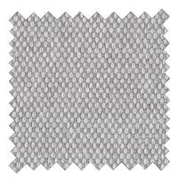 Boxspring fixe Winston tissu d'ameublement gris clair 180 x 200 cm-Détail de l'article