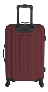 Transworld Set de valises rigides Freedom Spinner dark red-Arrière