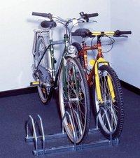 Mottez fietsenrek voor 3 fietsen-Vooraanzicht