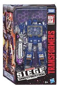 Transformers Siege robot War for Cybertron - Voyager Class - Soundwave-Avant
