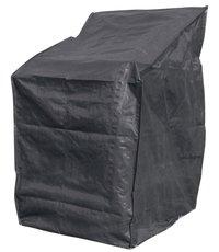 Housse de protection pour fauteuils empilables vert polyéthylène (PE) L 66 x Lg 66 x H 128 cm