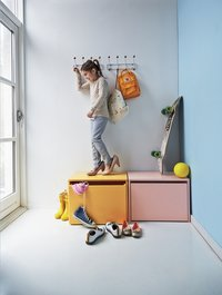 Opbergbankje Flexa Play roze-Afbeelding 1
