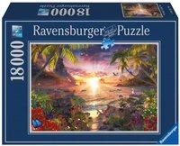 Ravensburger puzzel Paradijs zonsondergang